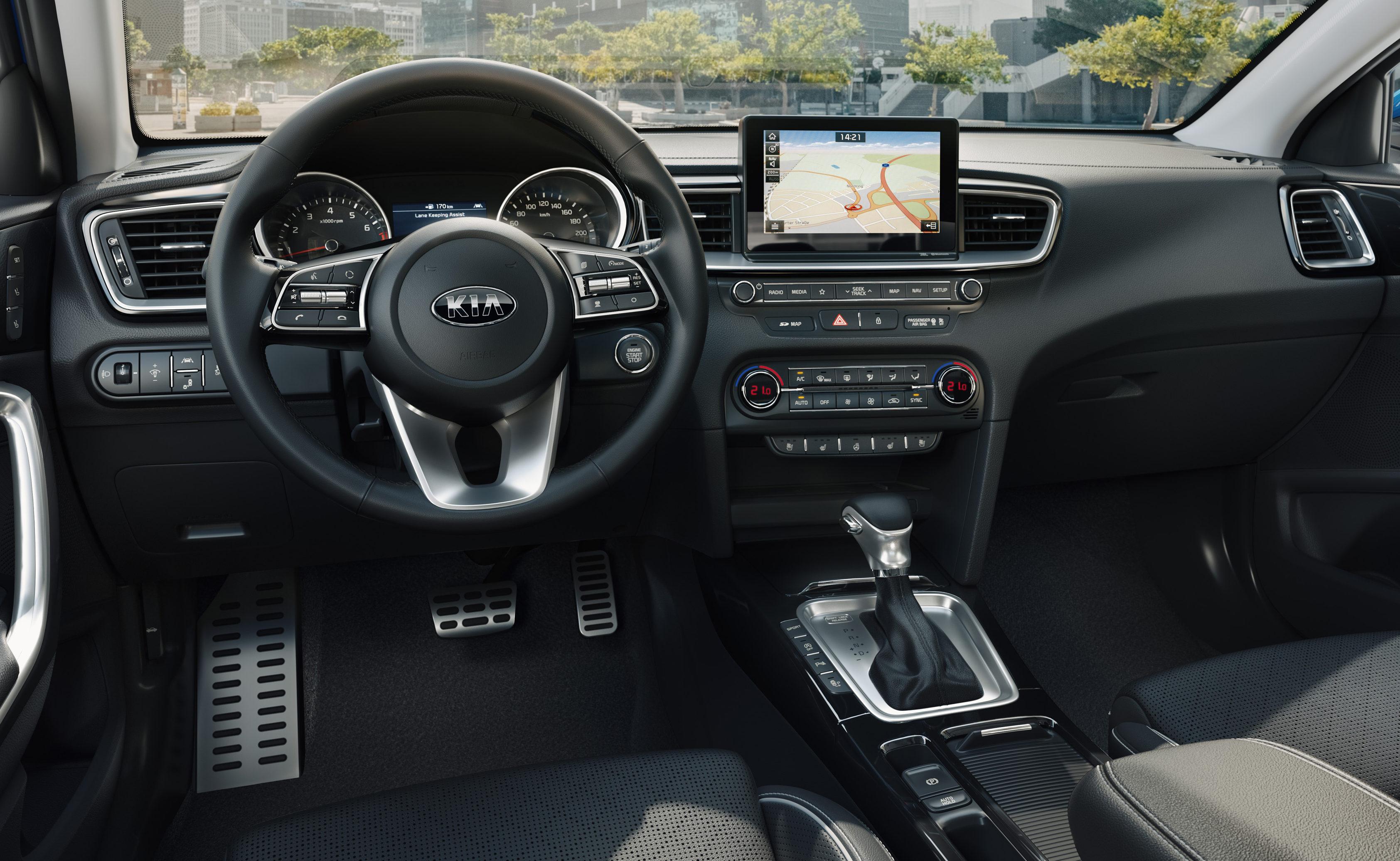 Kia ceed 2018 preise motoren verkaufsstart carwow for Innenraum design blog