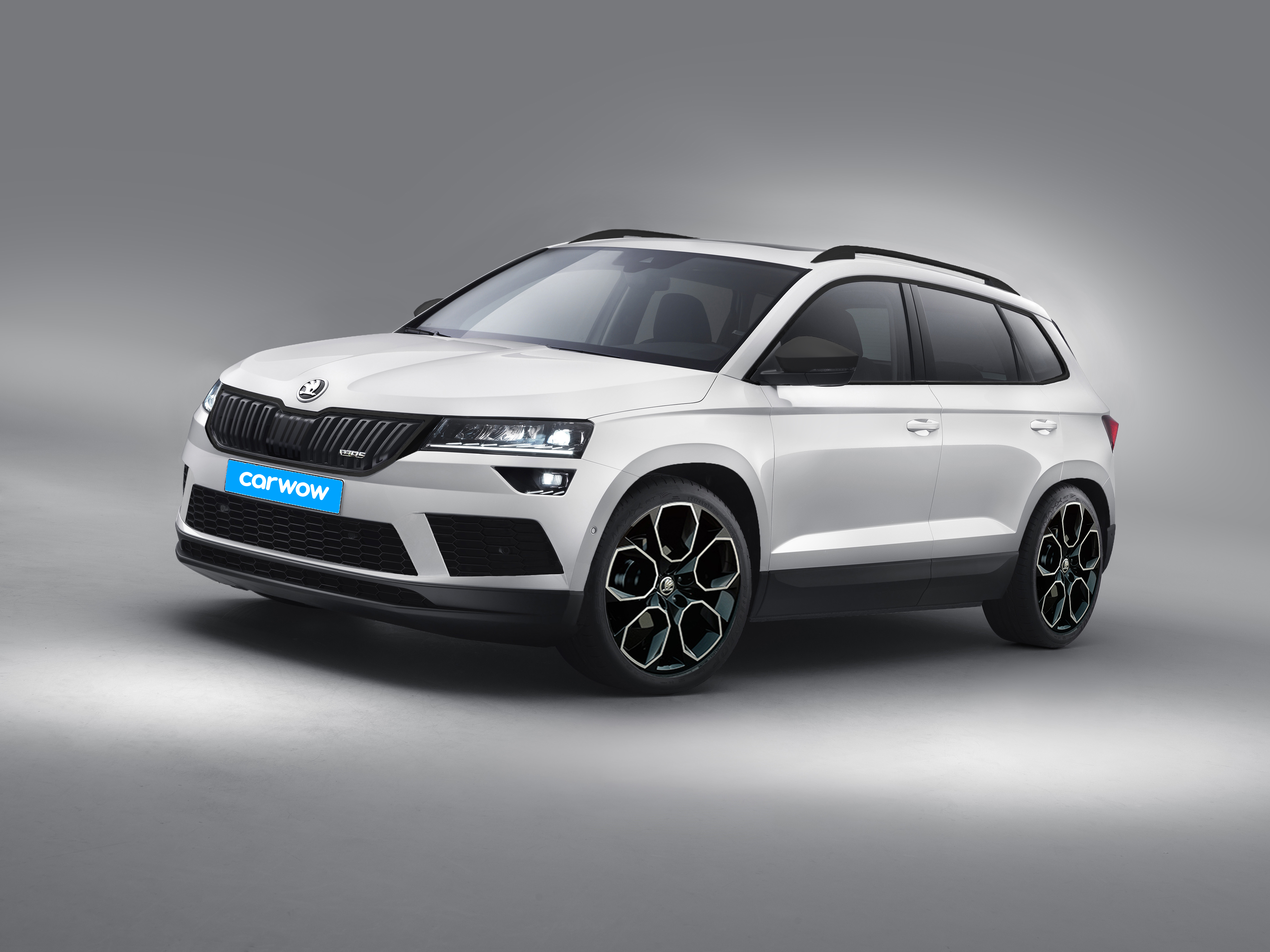 skoda karoq rs preise motoren verkaufsstart carwow. Black Bedroom Furniture Sets. Home Design Ideas