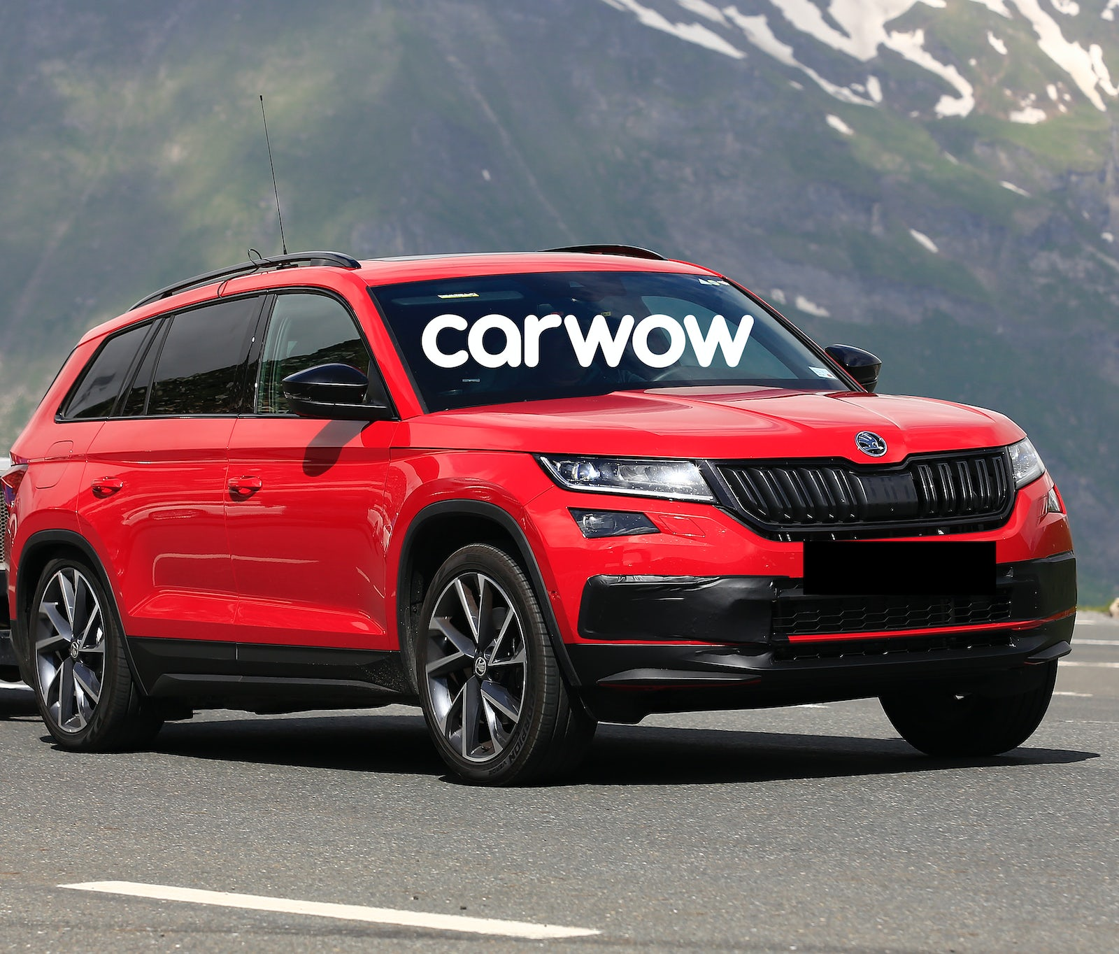 skoda kodiaq rs preise motoren verkaufsstart carwow. Black Bedroom Furniture Sets. Home Design Ideas