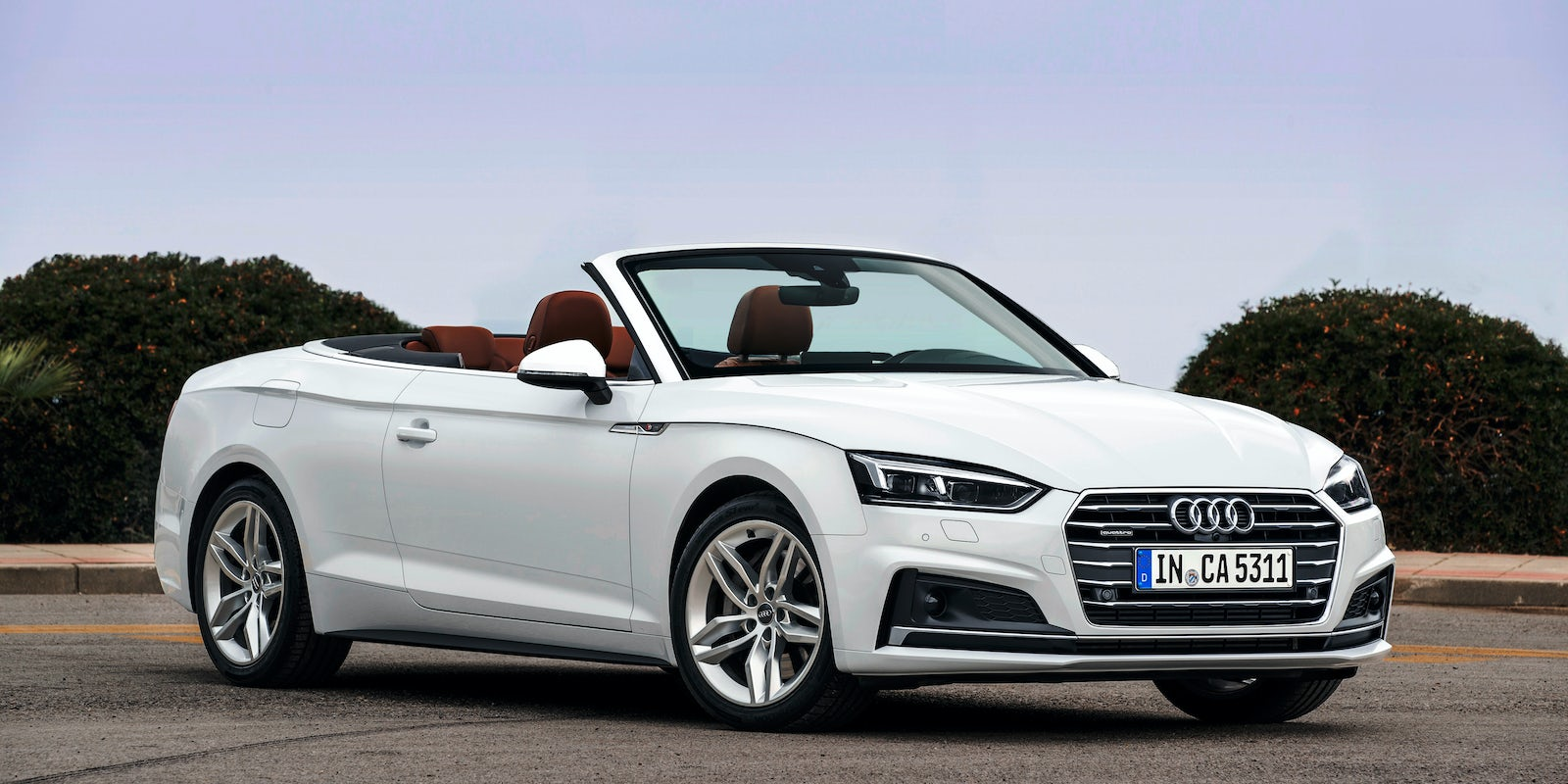 audi a5 cabrio im test mit bildern wertung carwow. Black Bedroom Furniture Sets. Home Design Ideas